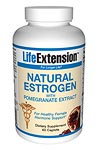 Life Extension Natural Estrogen With Pomegranate 60 Tabs