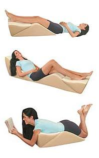 Back Max Bed Wedge Cushion 3-Piece System