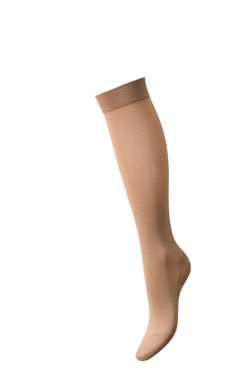 Mediven Elegance Calf High Sheer Support Stocking (16-20 mmHg) - Open toe