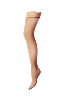 Mediven Elegance Sheer Thigh High Support Stocking W/ Silicone Band (12-16 mmHg) - Closed toe