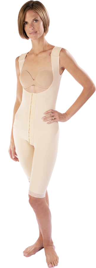 e1ab1345f Vedette Antoinette Medium Control Post Surgery Compression Garment w   Sleeves  78.40  68.64. Marena Above Knee Compression Girdle- Stage One