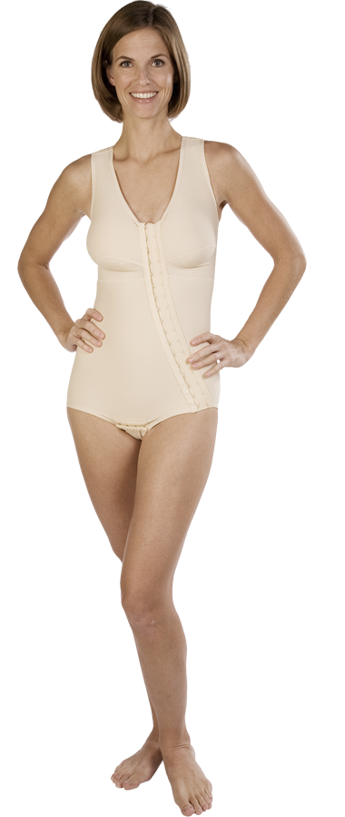 Marena Full Body Post-Surgical Compression Garment Brief- Stage One