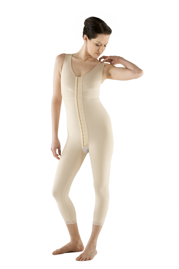 Marena Full Body Below Knee Post-Surgical Compression Garment- (Stage One)  - REFURBISHED