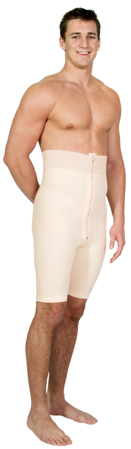 Marena Male Post-Surgery Compression Girdle -OPENED