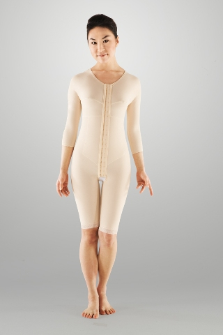 Full Body Compression Garment - Above Knee (w/ Bra & Armsleeve) (Marena) - REFURBISHED