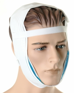 Facial Cosemetic Surgery Compression Garment W/Gel Packs (Marena)