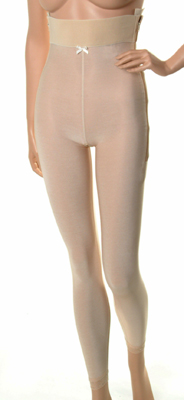Mid Body Plastic Surgery Compression Girdle - Ankle Length - Stage 1 (Marena) - OPENED