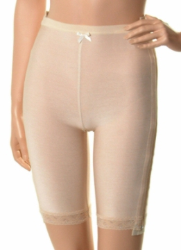 Abdominal Low Waisted Compression Garment - Mid Thigh - Stage 1 (Marena)- OPENED