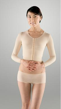 Arm, Back & Shoulder Long Sleeve Compression Garment (Marena) - REFURBISHED