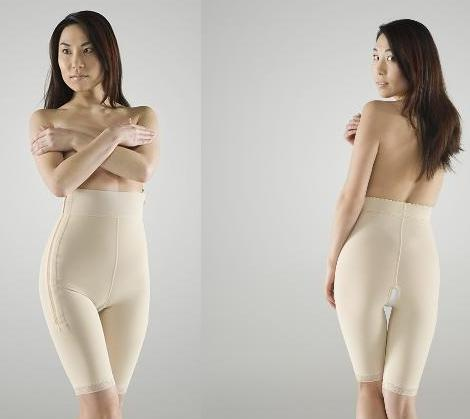 Mid Body Compression Garment - Mid Thigh - Stage 1 (Marena) - OPENED
