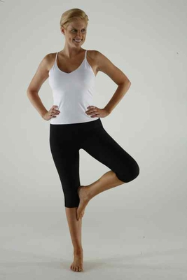 Marena Shapely Exercise Capris - REFURBISHED