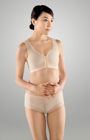 "Breast Surgery Bra W/ 1"" elastic band"