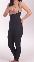 High Back Mid Body Plastic Surgery Compression Garment - Ankle Length - Stage 2 (Marena)