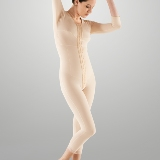 Full Body Cosmetic Surgery Compression Garment - Medium Length (w/ Bra & Armsleeve) (Marena)