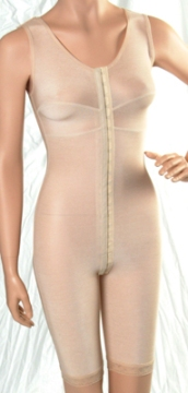 Full Body Compression Garment W/Bra - Above Knee - Stage 1 (Marena) - OPENED