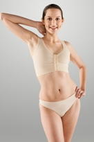 "Breast Surgery Bra W/ 2"" elastic band (Marena)"
