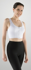 Breast Augmentation Sports Bra (W/Zippers) (Marena)