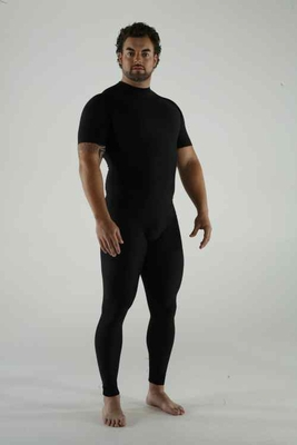Marena Men's Shapely High-Waist Exercise Compression Pants