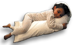 Snoozer Junior Body Pillow W/Cover