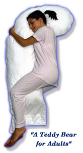 Snoozer Full Body Pillow W/Cover