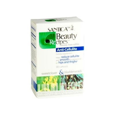 Santica Anti-Cellulite Supplement W/ Sweetclover & Bladderwrack