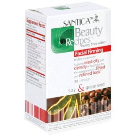 Santica Facial Firming Supplement W/Soy & Grape Seed