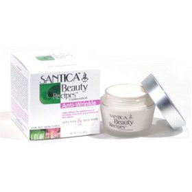 Santica Anti-Wrinkle Cream W/ Gotu kola, Lotus seeds & Biotech Hyaluronic Acid