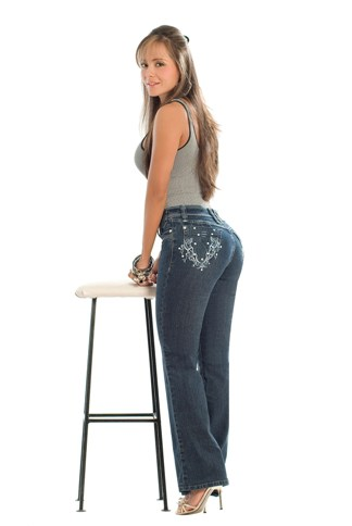 Christina Slim 'n Lift Buttock Jeans- PHONE ORDERS ONLY - 866-363-4325
