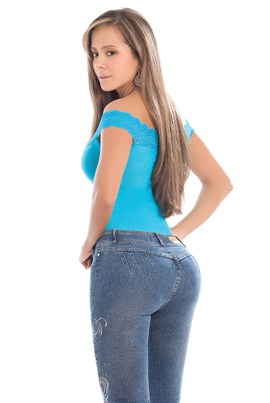 Barbara Slim 'n Lift Buttock Jeans- PHONE ORDERS ONLY - 866-363-4325