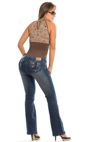 Alicia Slim 'n Lift Buttock Jeans- PHONE ORDERS ONLY - 866-363-4325