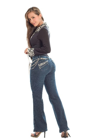 Jennifer Slim 'n Lift Buttock Jeans- PHONE ORDERS ONLY - 866-363-4325