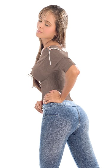 Shakira Slim 'n Lift Buttock Jeans- PHONE ORDERS ONLY - 866-363-4325