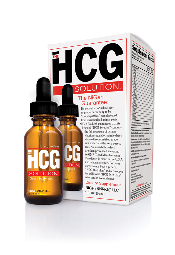 NiGen BioTech The HCG Solution Diet Drops