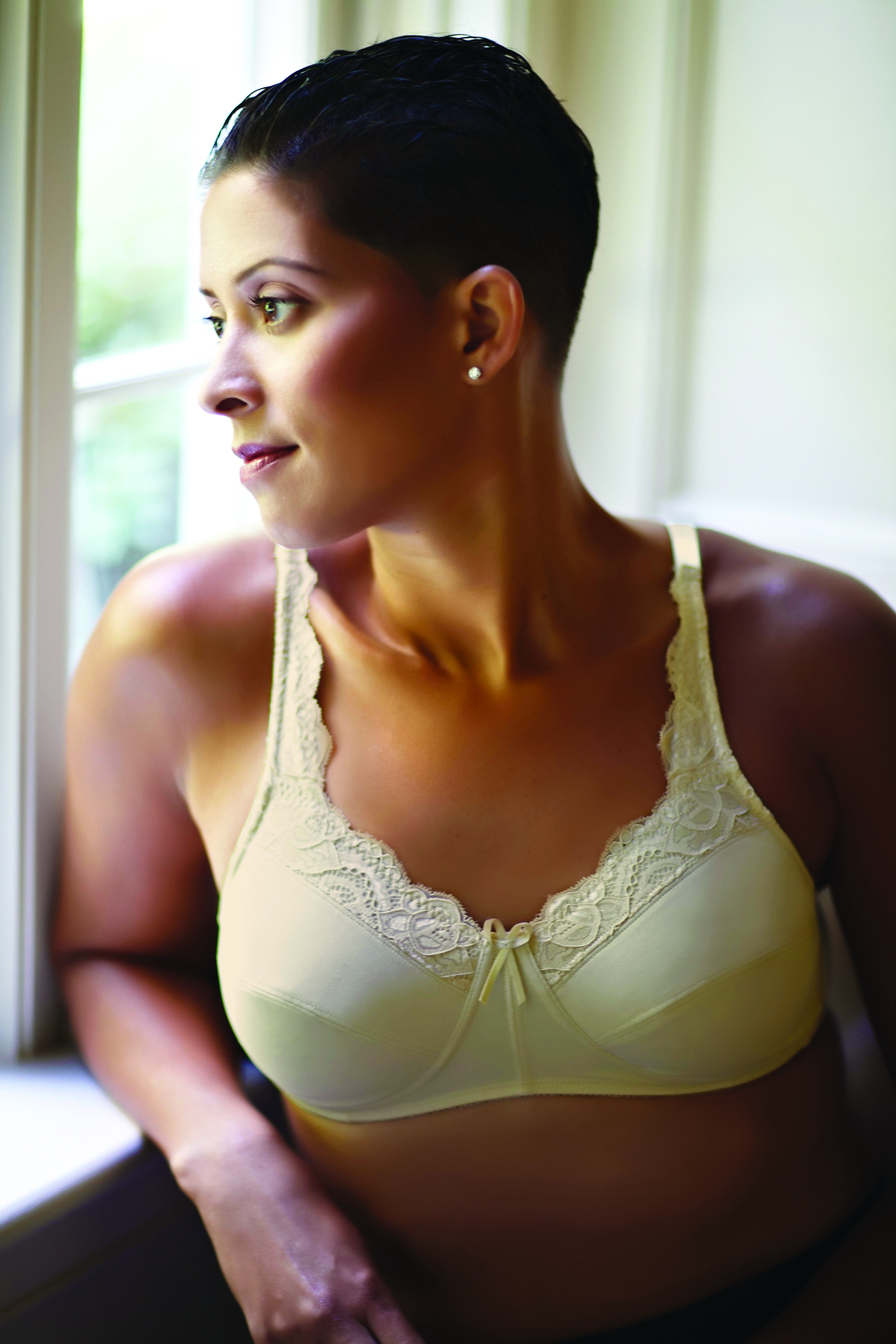American Breast Care Lace Top Bra