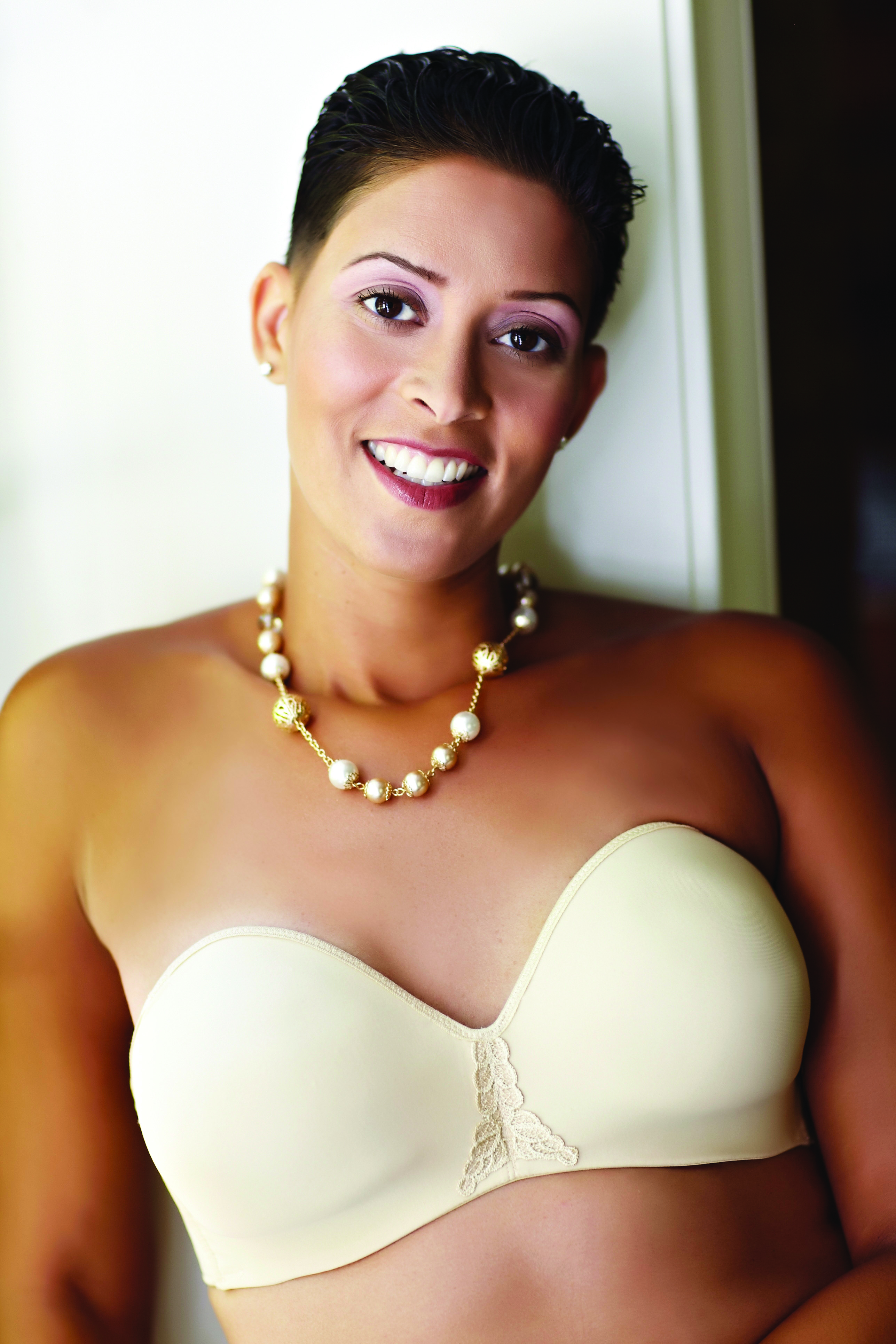 American Breast Care Strapless T-Shirt Bra