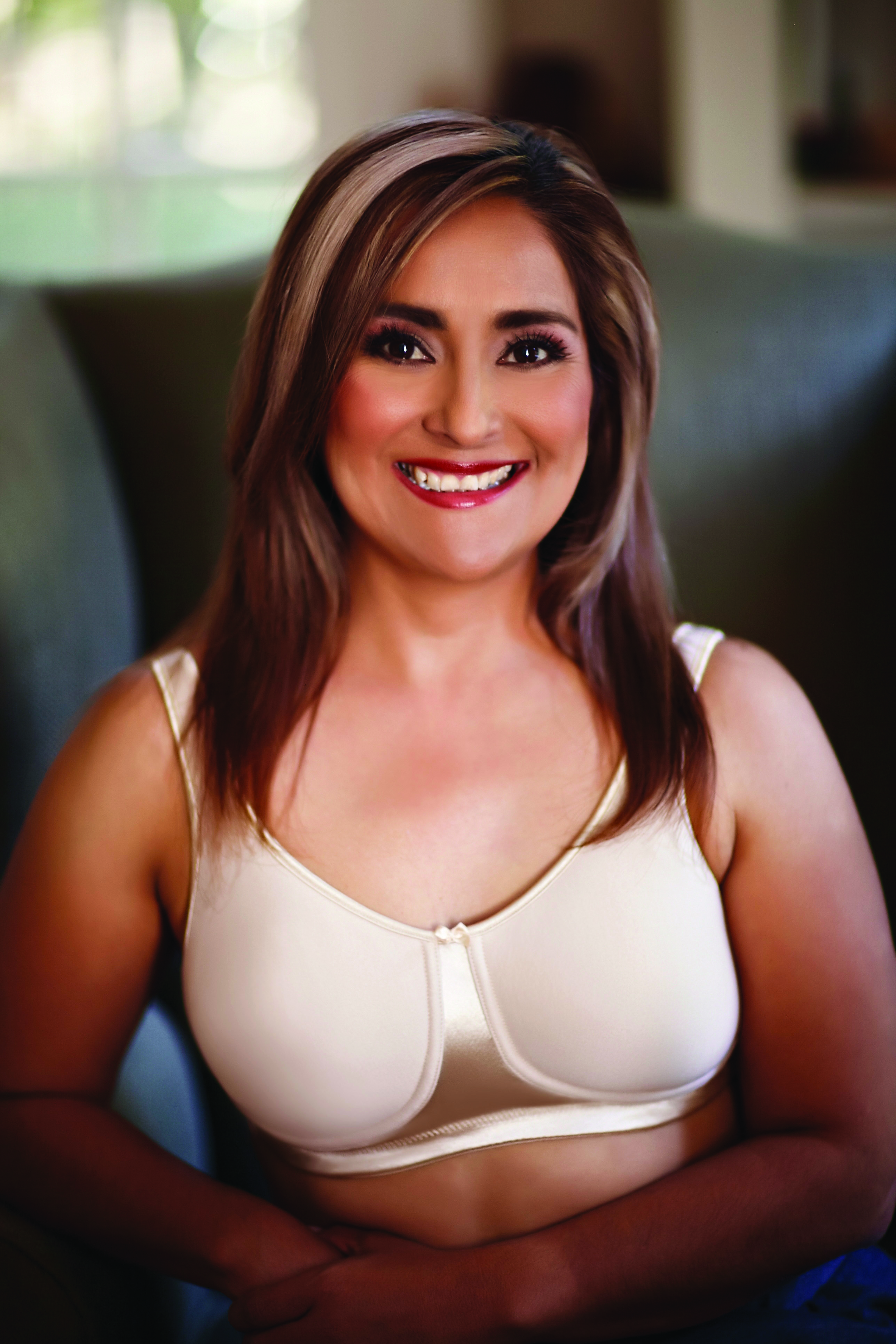 American Breast Care Satin T-Shirt Bra