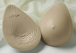 Nearly Me Lites Full Oval Breast Form