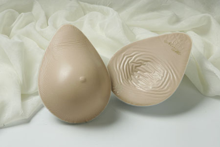 Nearly Me Lite Tapered Oval Breast Form