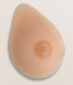 TRANSFORM NATURAL LOOK Tapered Oval Breast Form (Transgender/Cross-Dressing)