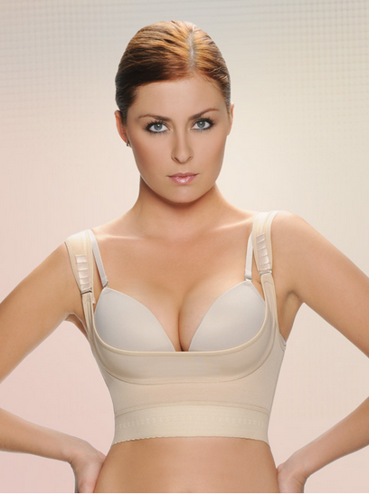 Vedette Breast Surgery Underbust Compression Push-Up Bra