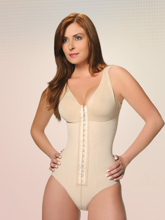 Vedette Noemi Firm Control Post Surgery Control Body Suit w/ Bra