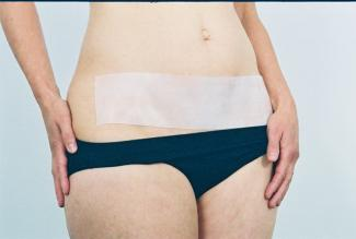 Rejuveness Tummy Tuck Scar Reduction Treatment Silicone Sheet (Self-Adhesive)
