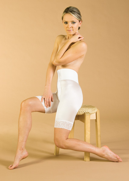 Above Knee Plastic Surgery Compression Garment – Stage 2 (Contemporary Design)