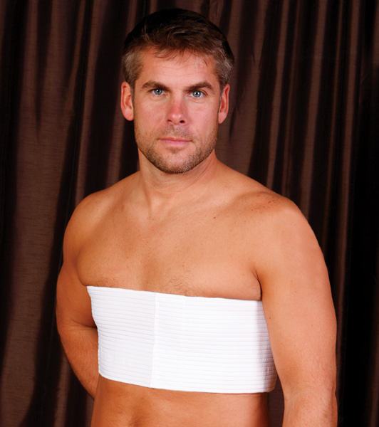Male Cosmetic Surgery Compression Vest Rainey Rainey