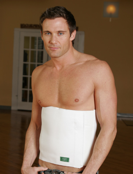 "Abdominal Plastic Surgery One Strap Binder- 12"" (Contemporary Design)"