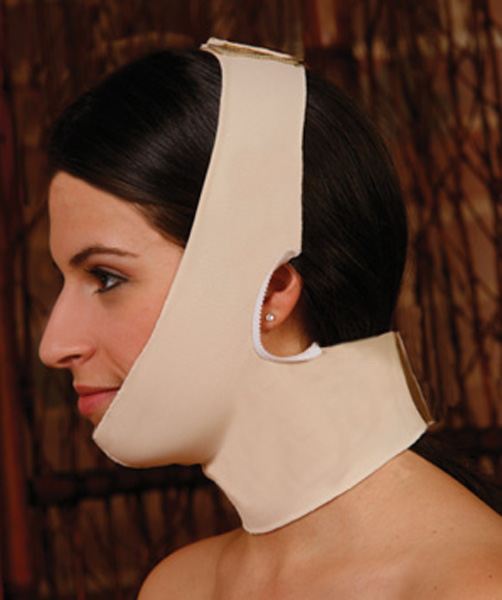 Facial Surgery Universal Chin and Neck Compression Garment (Contemporary Design)