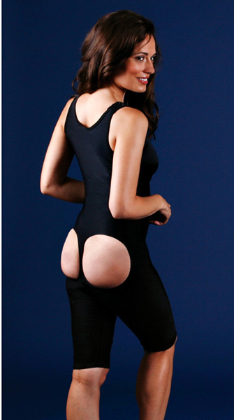 Sculptures Plastic Surgery Brazilian  Compression Garment Above Knee Body Shaper - Stage 1