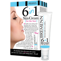 Bremenn Research Labs 6 in 1 Cream For The Face