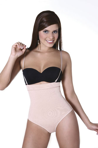 Vedette Julie Extra Firm Control Body Suit w/ Removable Straps & Thong