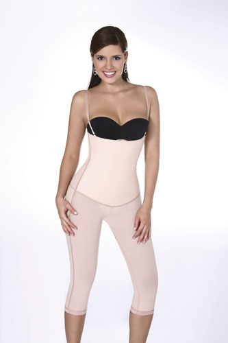 Vedette Nicolette Dual Control Full Body Shaper w/ Removable Straps